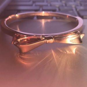 NWOT rose gold kate spade bracelet